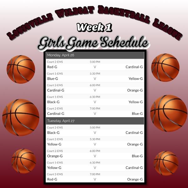 B Ball Schedule 3