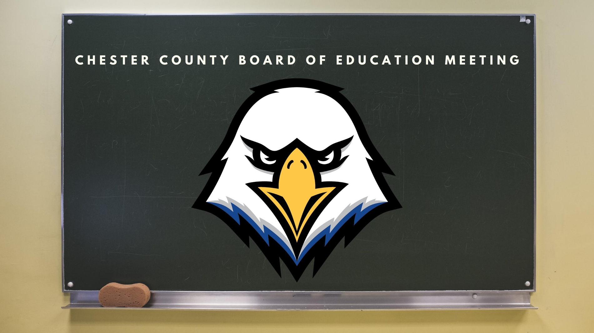 Board of Education Meeting Graphic