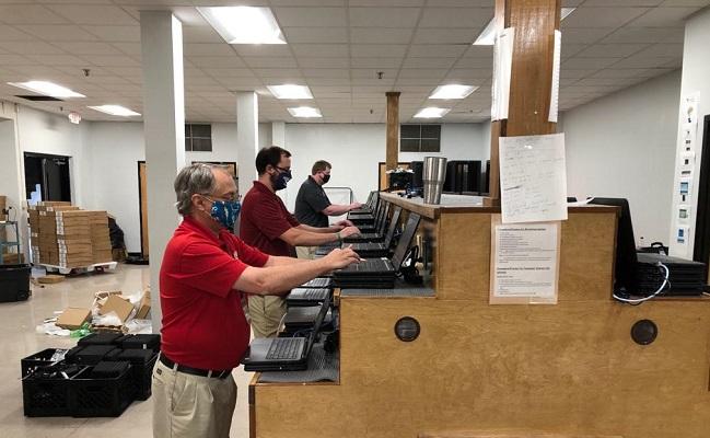 Imaging Student Laptops