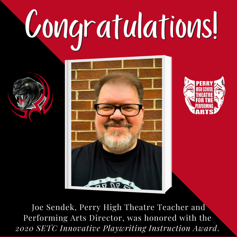 PHS Teacher Wins Regional Playwriting Instruction Award