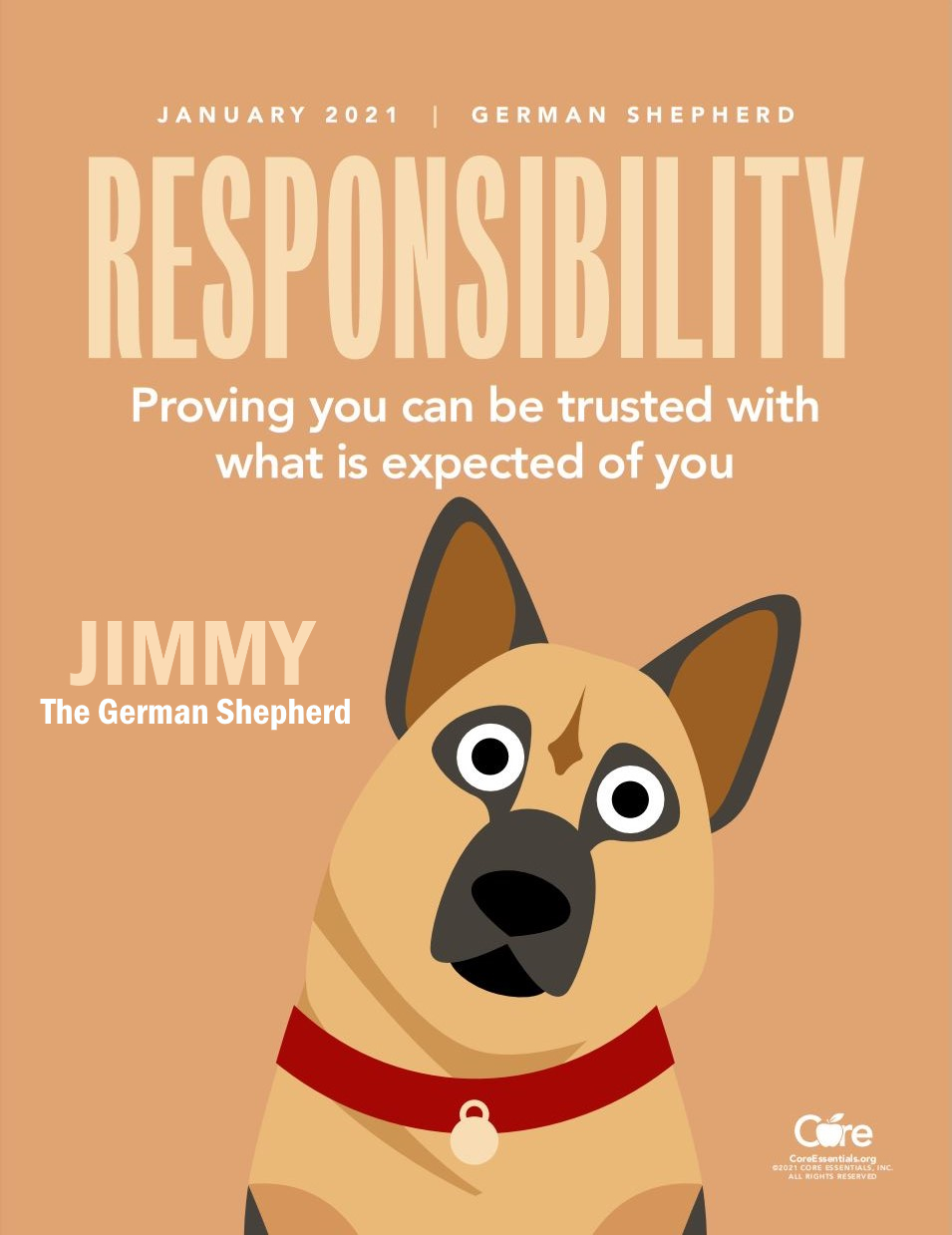 Jimmy The German Shepherd