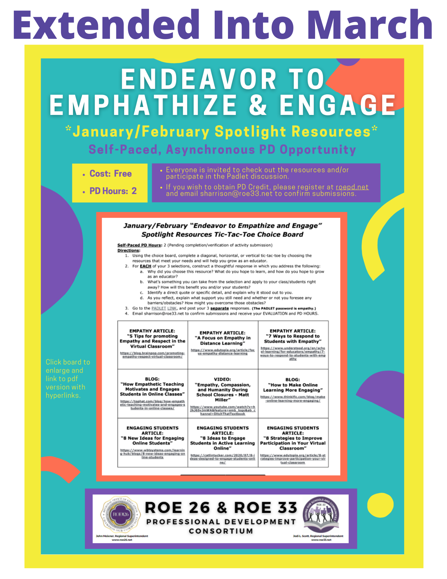 Endeavor to Emphathize & Engage