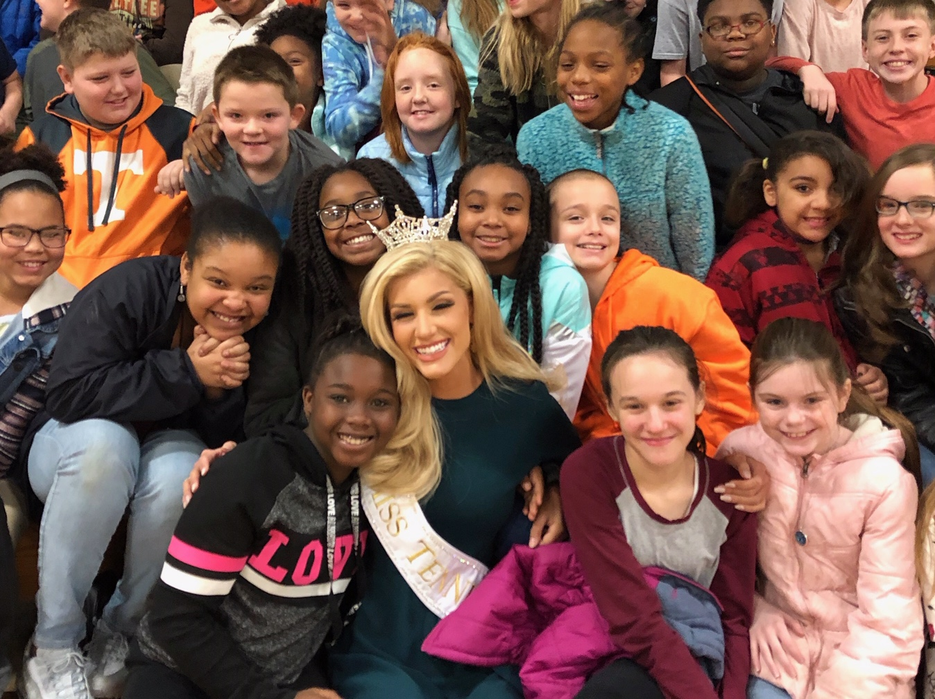 Miss Tennessee Visits
