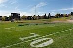 10 yard line on a football field