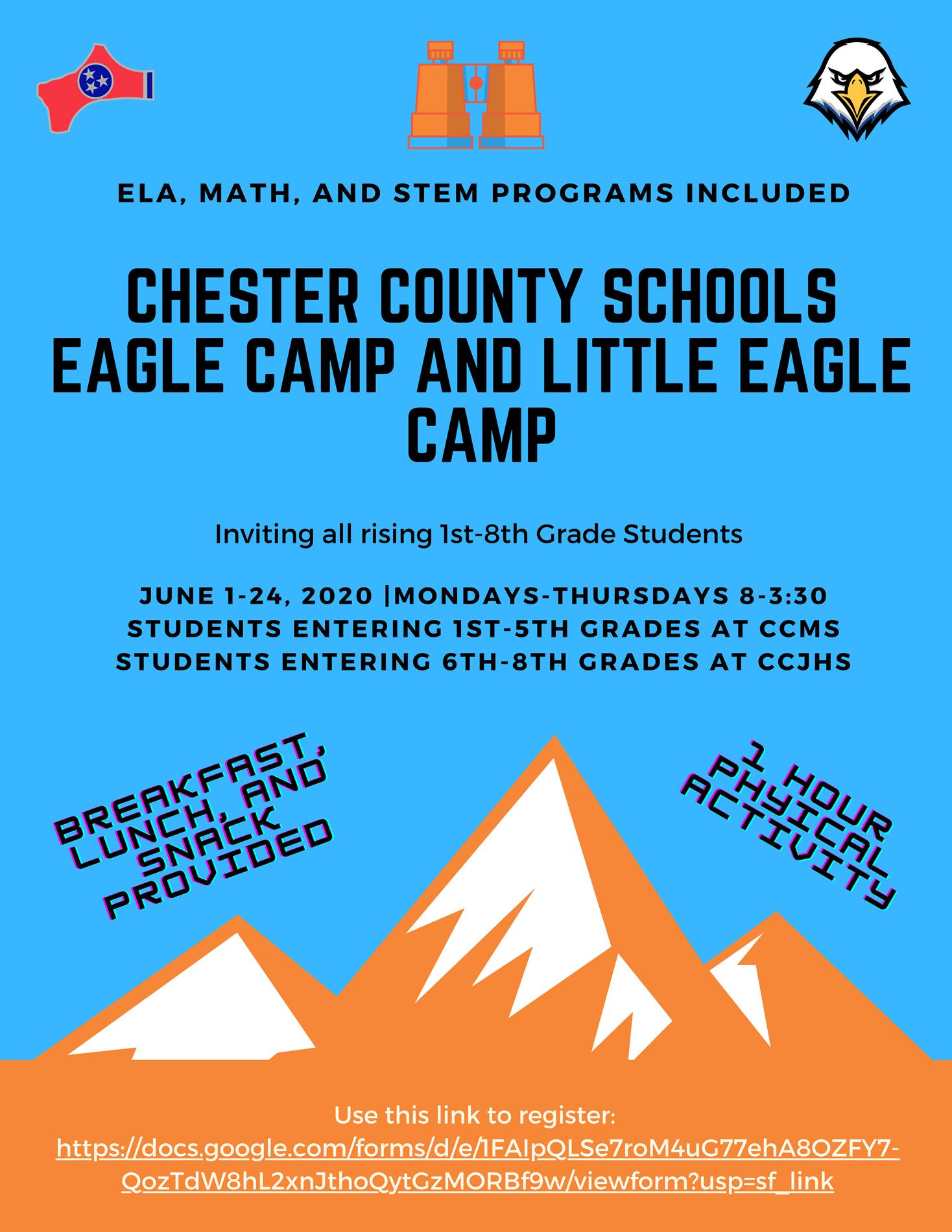 Eagle Camp Flyer
