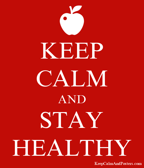Stay Calm and Stay Healthy