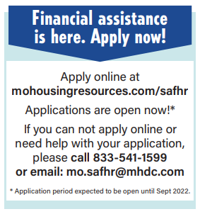 state assistance for housing relief (SAFHr)