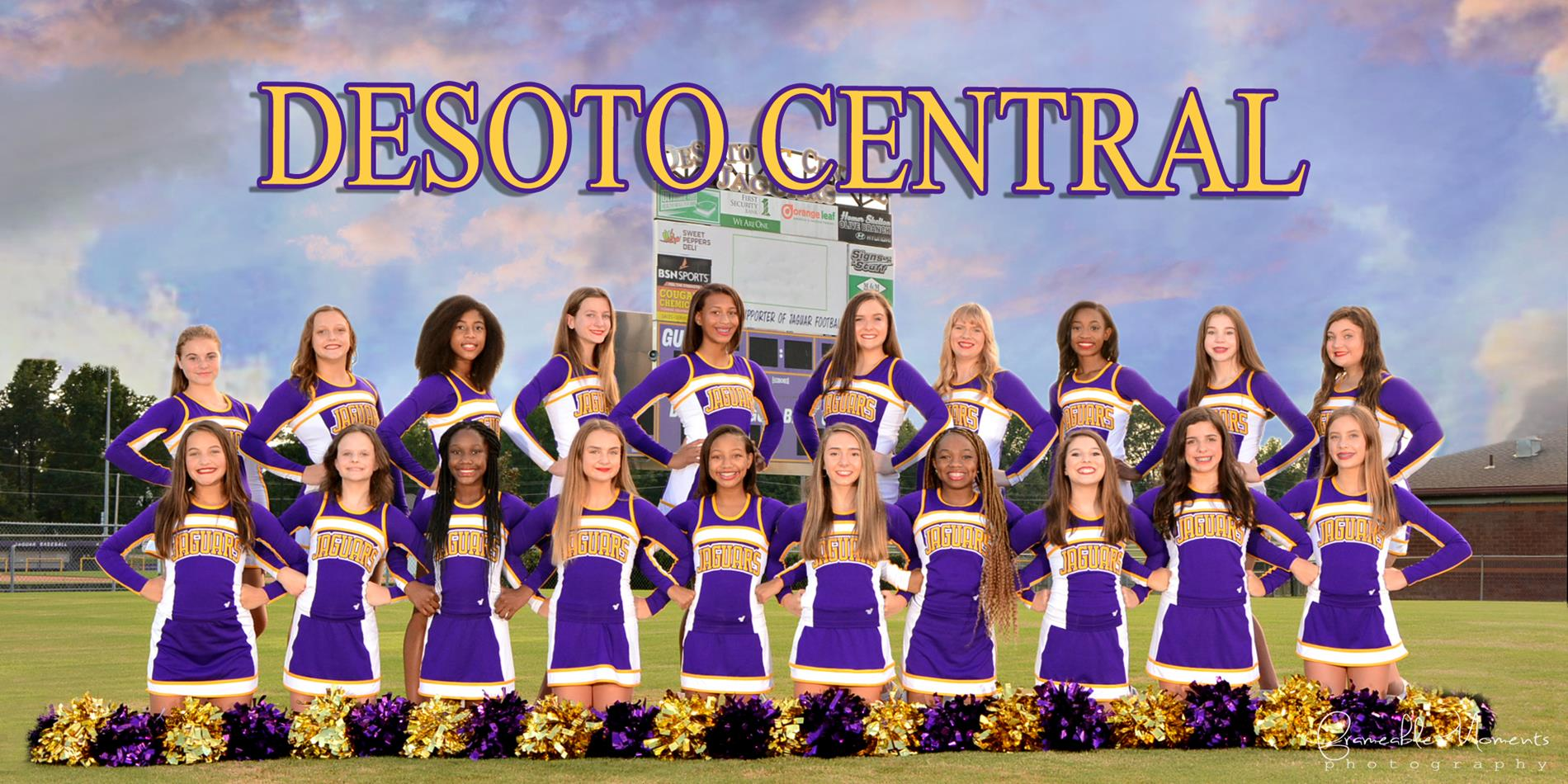 2020-2021 DCMS Cheerleaders