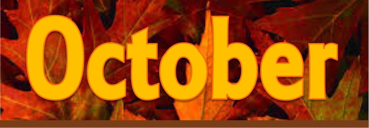 October Banner
