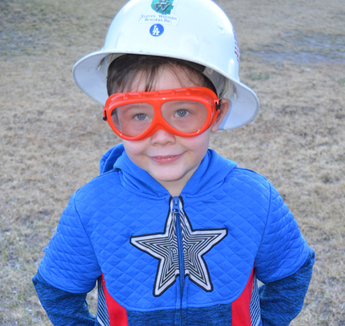 boy in hardhat