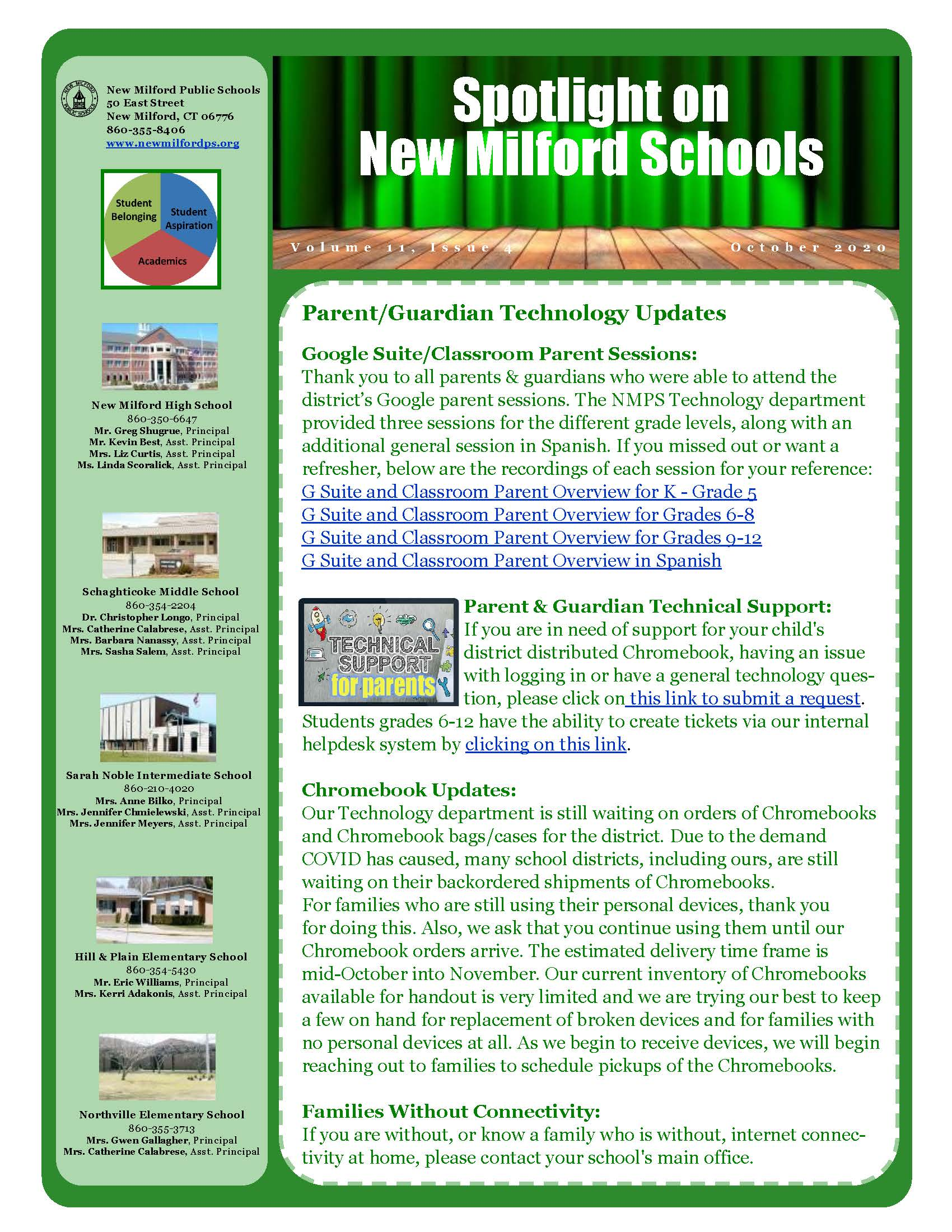 October district newsletter