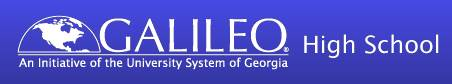 Galileo Logo and Link