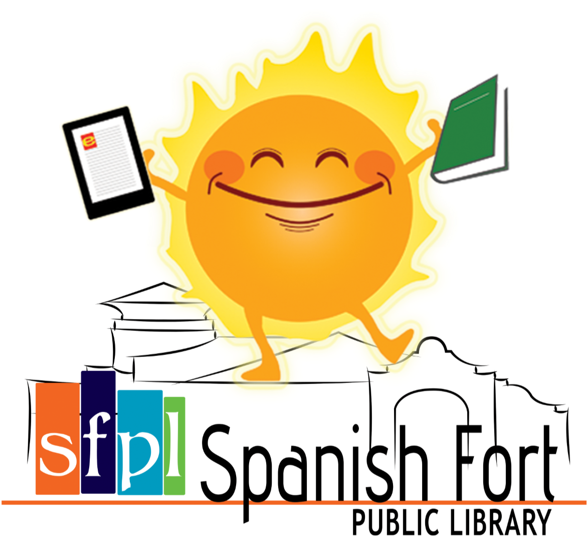 SFPL summer reading logo