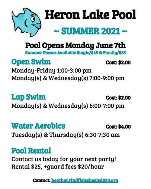 Pool Info