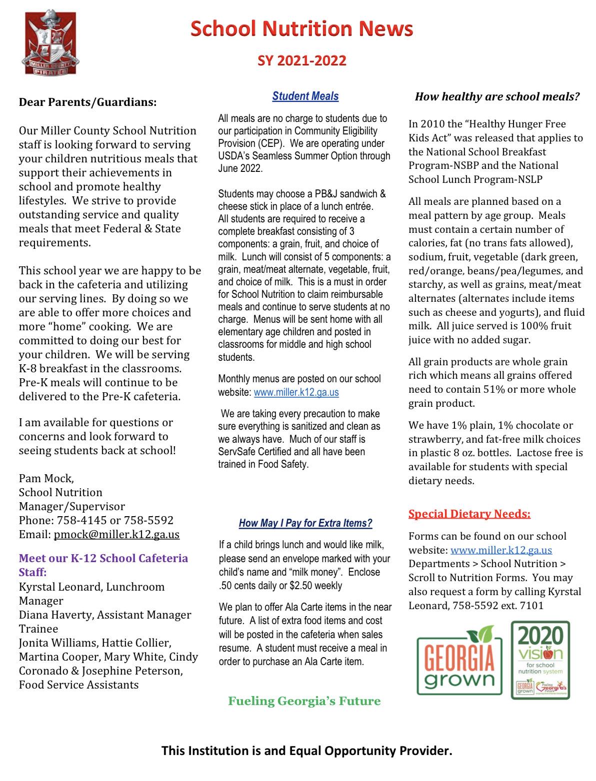Newsletter 2021-2022