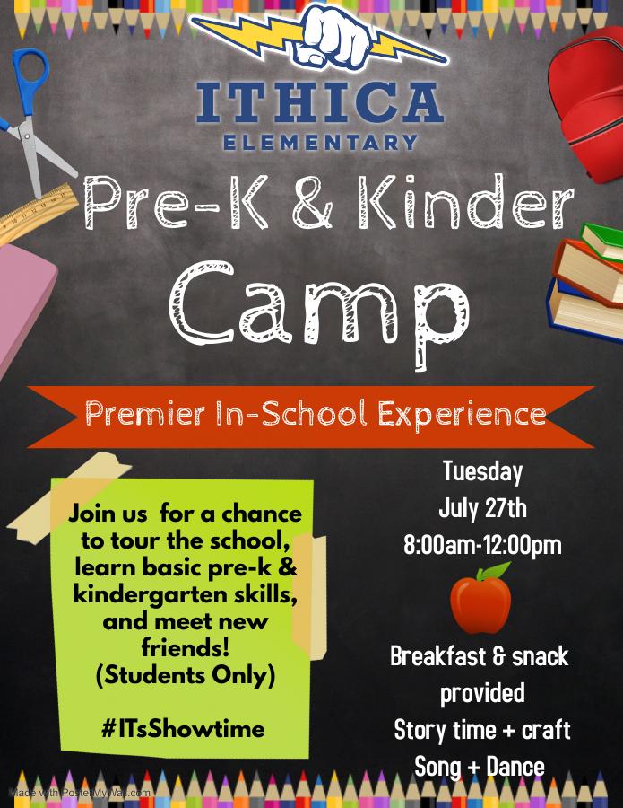 ies kindercamp flyer