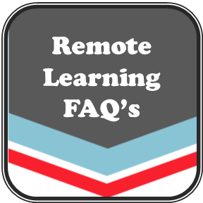 button for remote learning FAQ's
