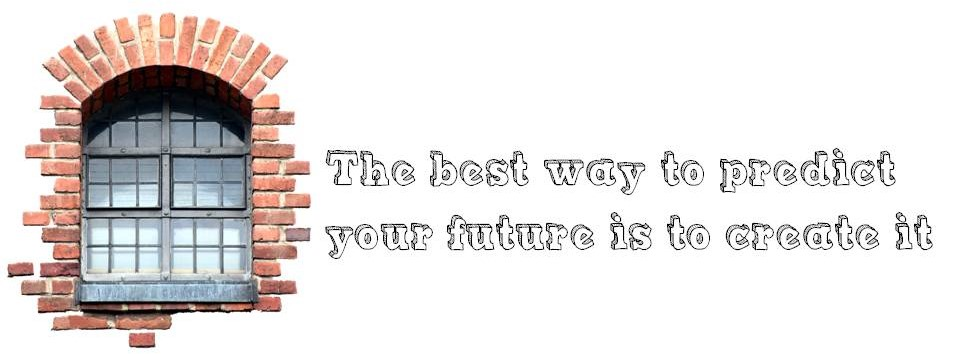 Guidance Banner with Quote ~The best way to predict your future is to create it. Unknown