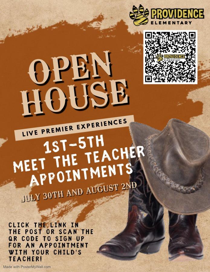 1-5 Open House Flyer