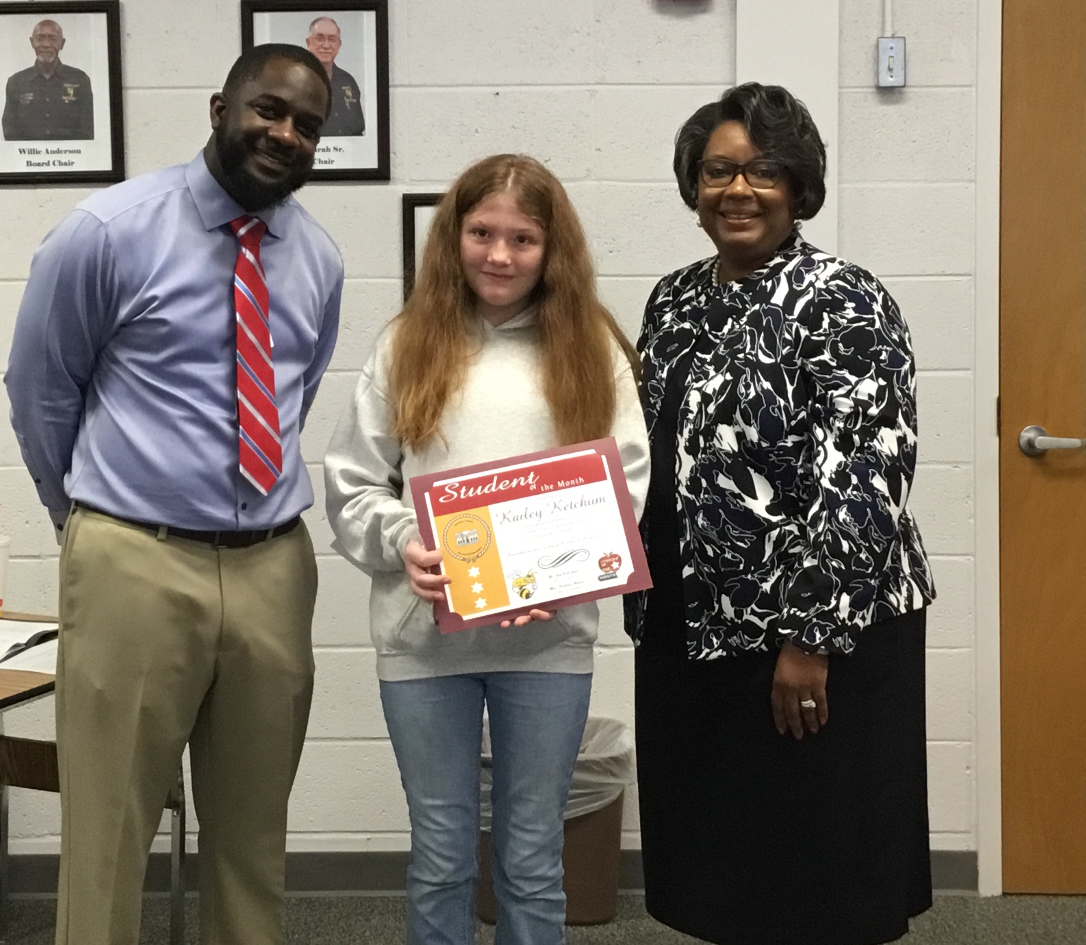 September 2019 MS Student of the Month - Kailey Ketchum
