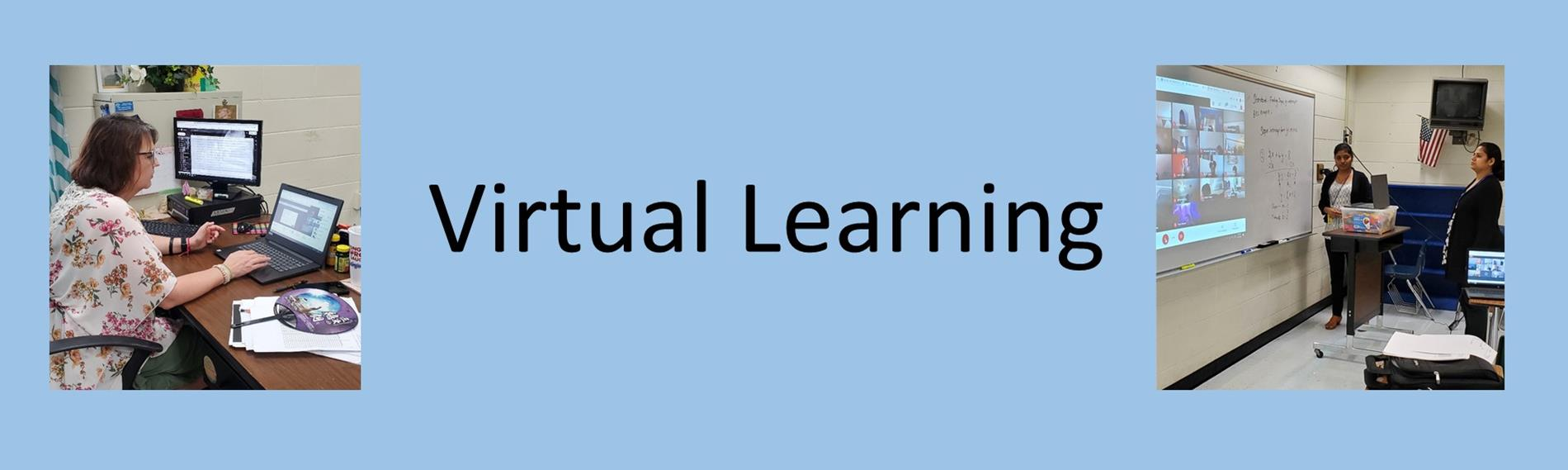 Virtual Instruction with two teachers