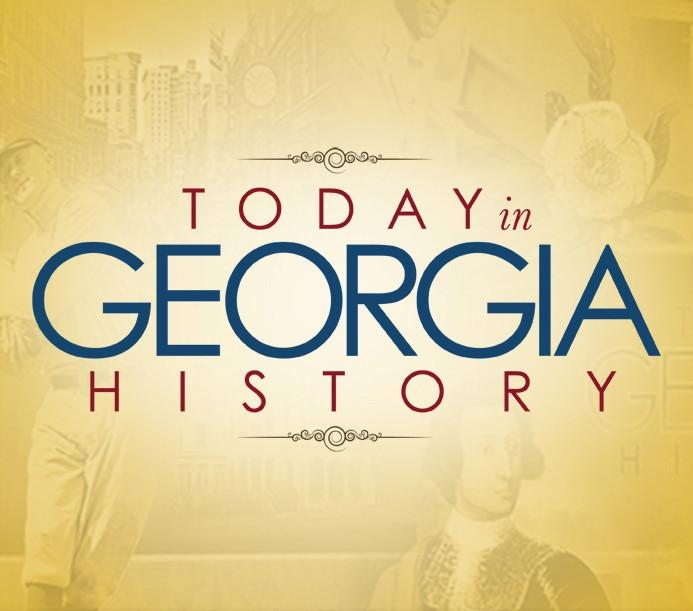 Today in Georgia History Button