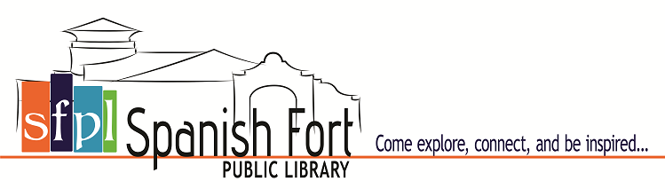SFPL logo with tagline