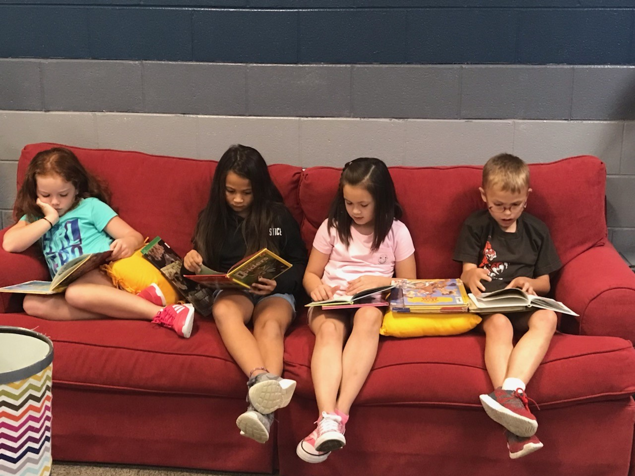 Reading in the Learning Commons