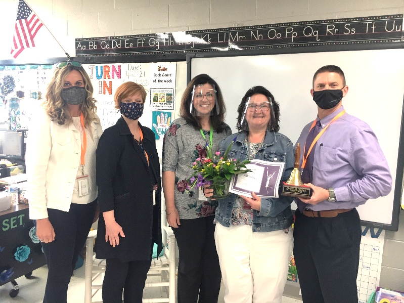 SES Teacher of The Year Janet Trapp