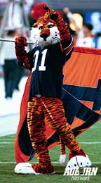 Aubie Showing he is Number 1!