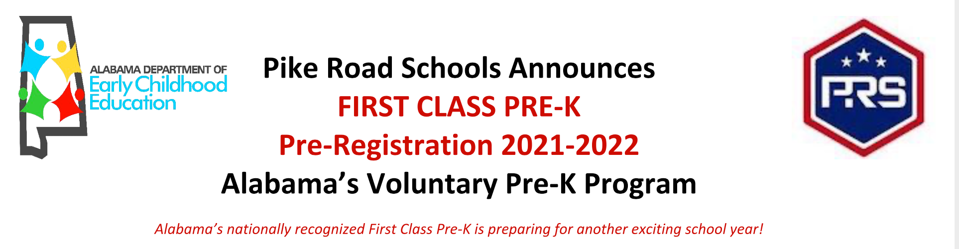 First Class Pre=K