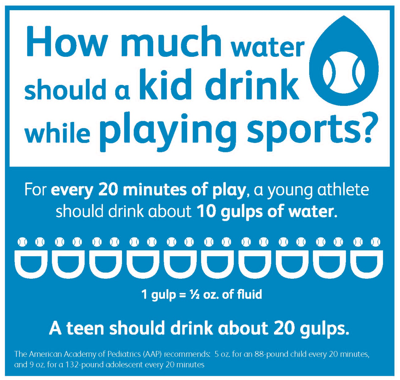 How to hydrate for sports sign