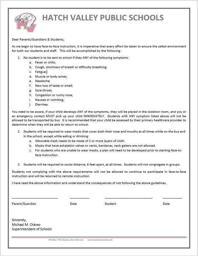 Health Contract English