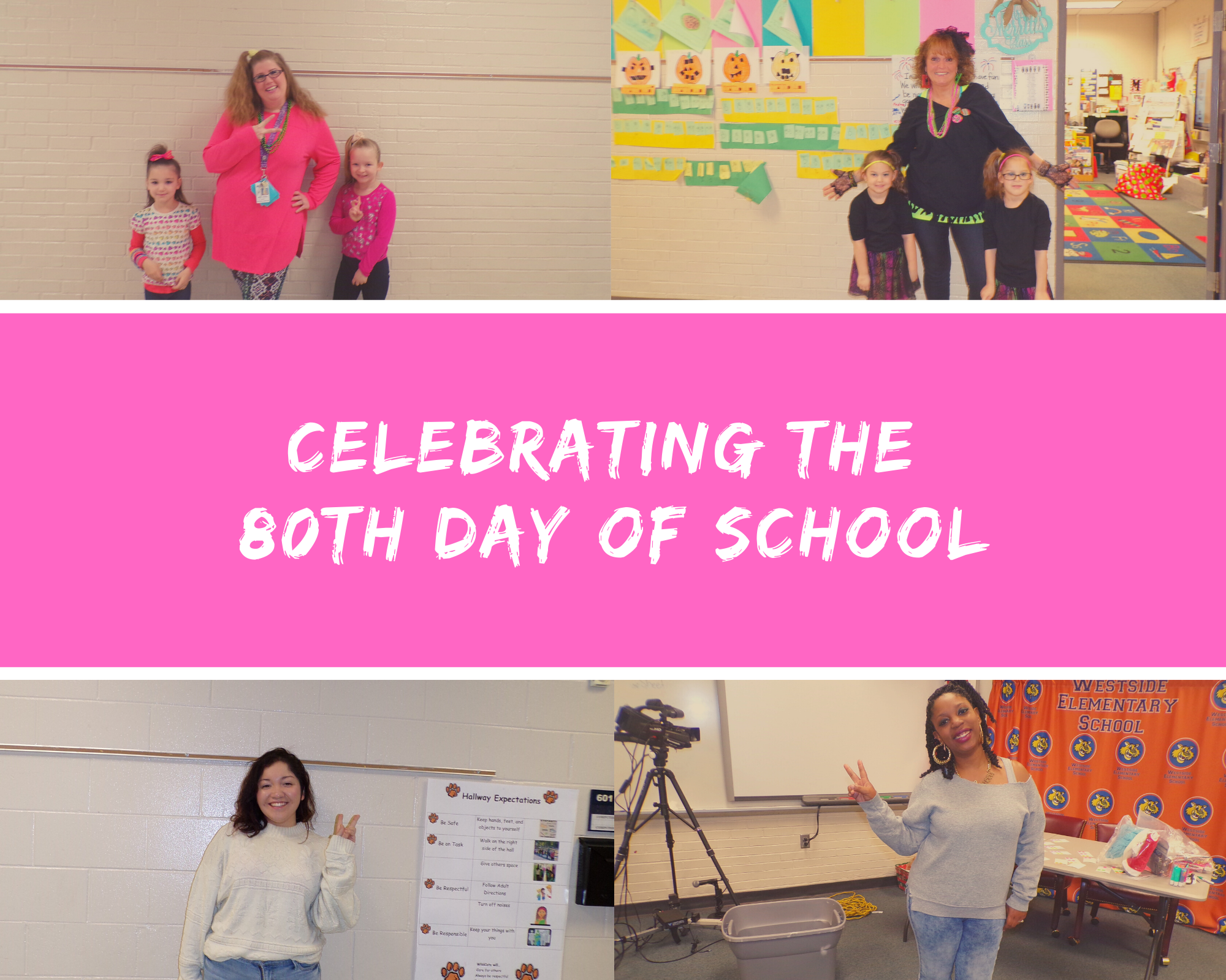 Faculty Celebrates 80th Day of School