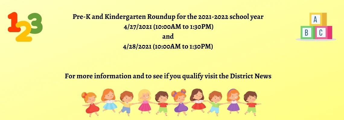 PreK&Kinder Roundup