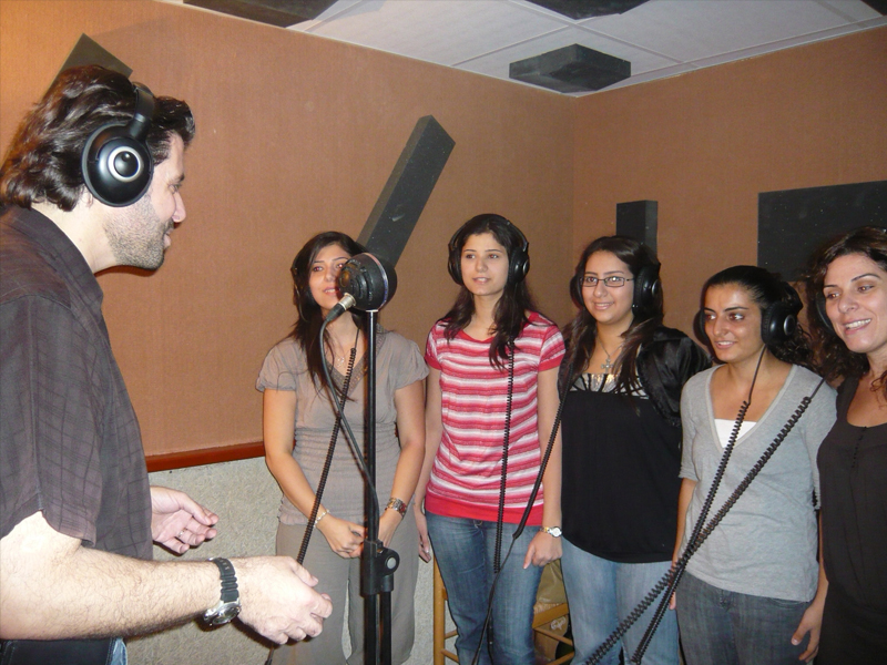 Recording the album Dayes Ala Assalak