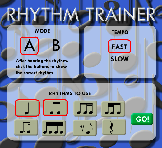 The Rythm Trainer (Click Me)