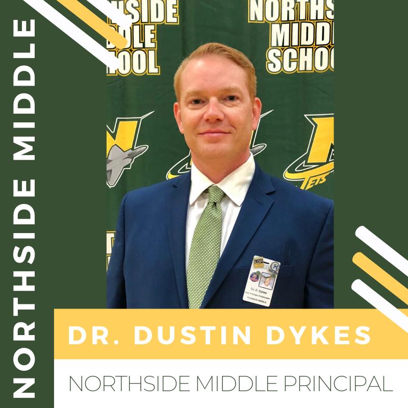 Dr. Dustin Dykes Named NMS Principal
