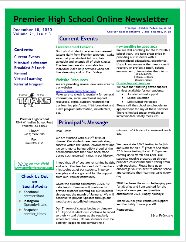 Newsletter page 1 12.18.20