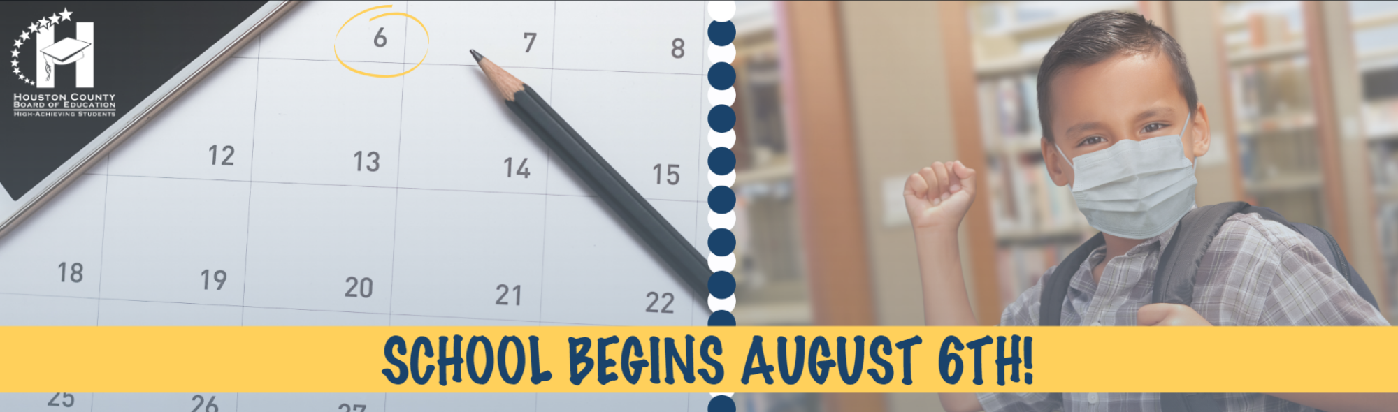 Back to School on August 6