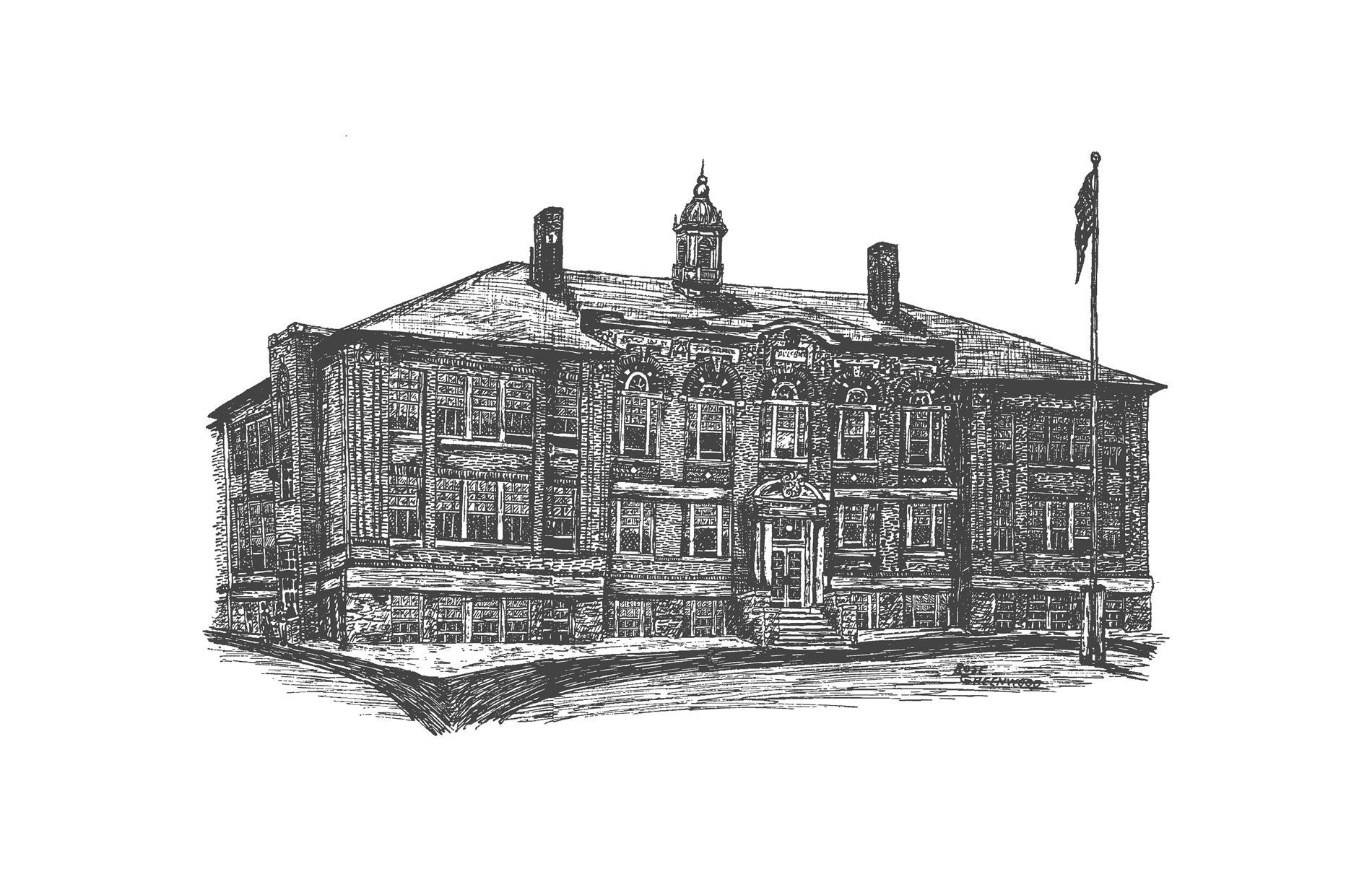 Sketch of High School