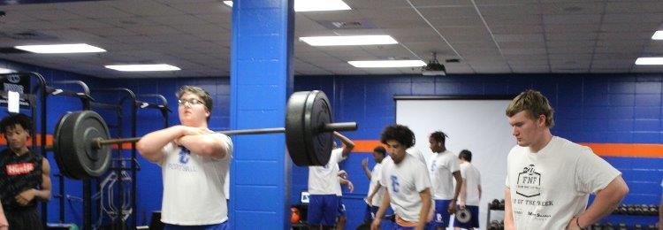 TCHS Weight Lifting Team