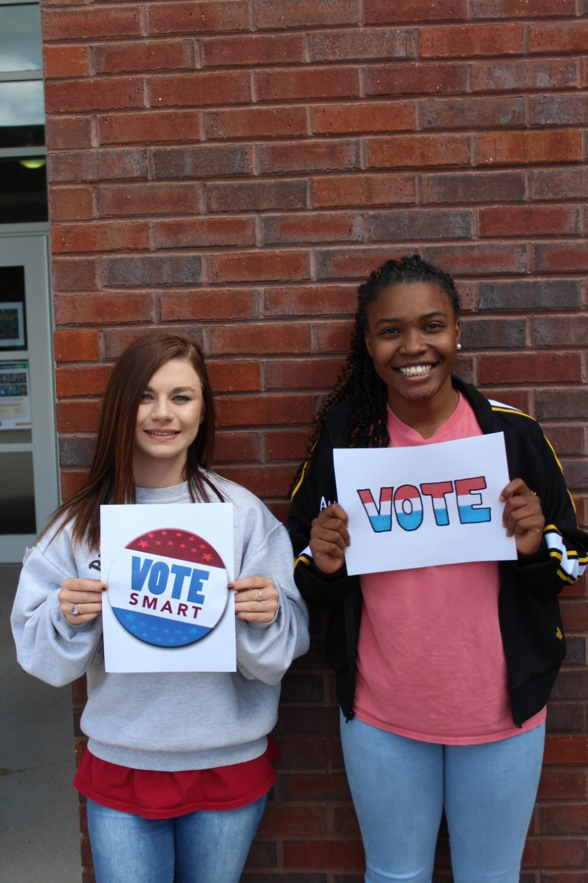 McLean and Wright - Student Poll Workers