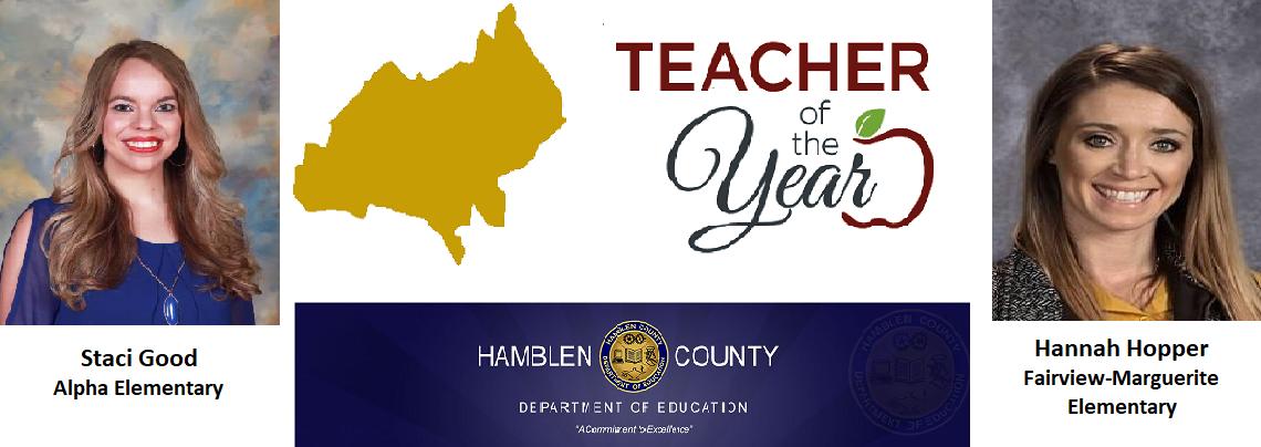 Staci Good/Hannah Hopper Teacher of the Year