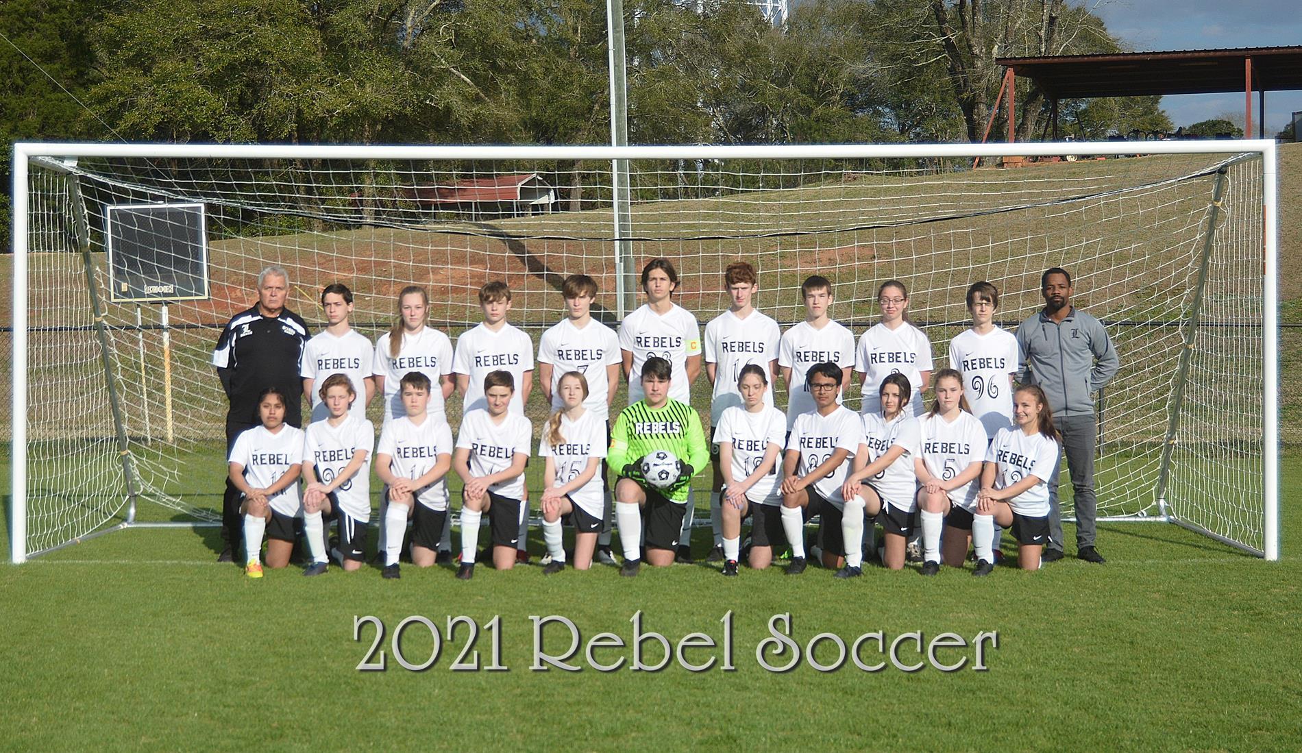 Rebel Soccer Team Picture