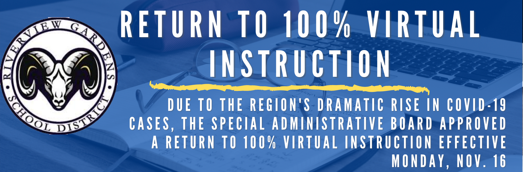 Return to 100% Virtual Instruction