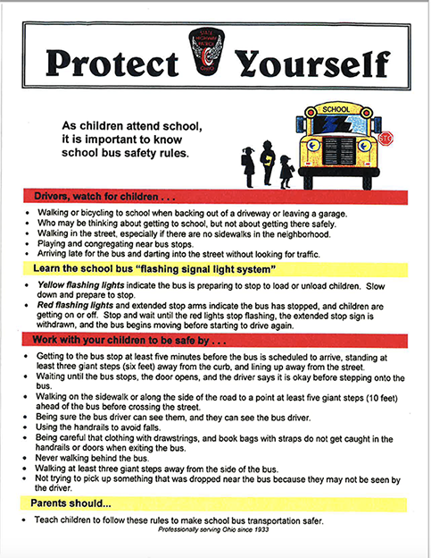 OSP's School Bus Safety