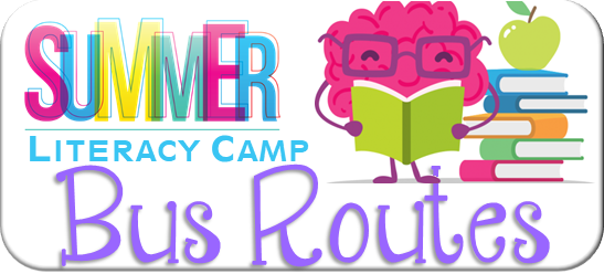 literacy camp bus routes