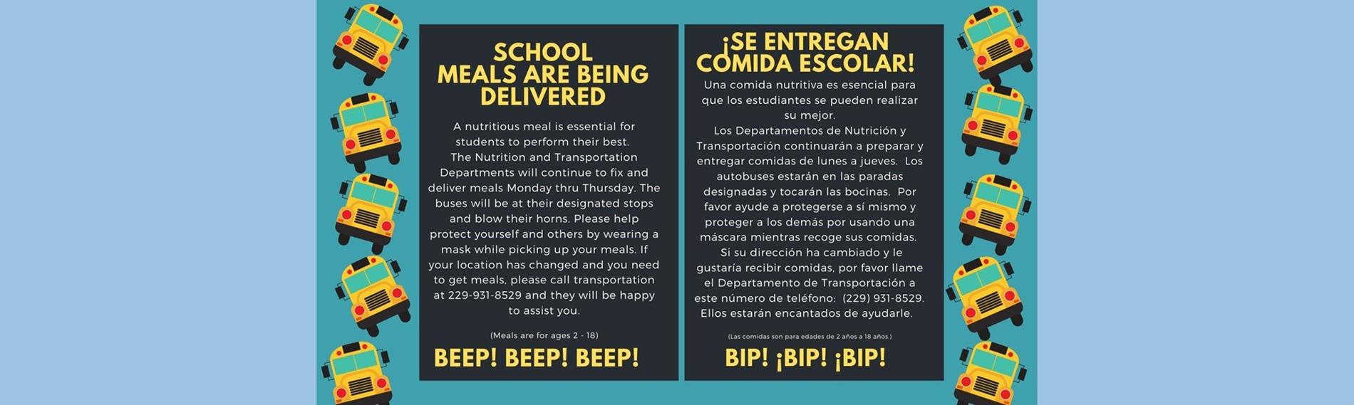 Nutrition Flyer English Spanish