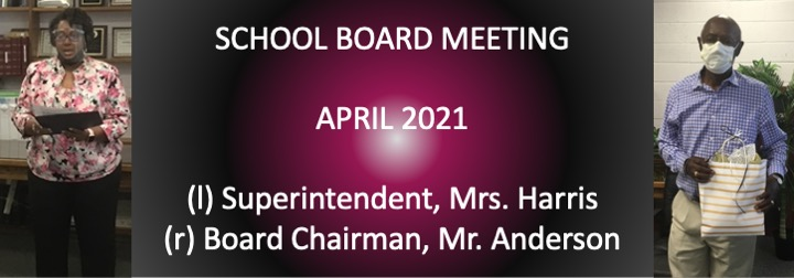 April 2021 Board Meeting